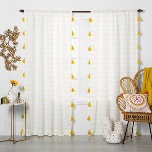 Opalhouse Tassel Curtain Panel 54x84